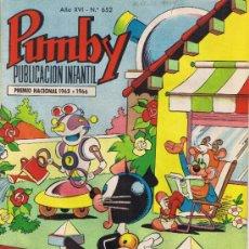 Tebeos: PUMBY - Nº 652 - AÑO XVI. Lote 35653550