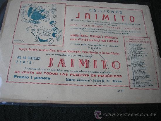Tebeos: EL PEQUEÑO LUCHADOR Nº 33. vICTORIA - Foto 2 - 35696123