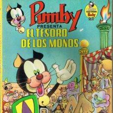 Tebeos: LIBRO ILUSTRADO PUMBY - Nº 9 - EL TESORO DE LOS MONOS - 1969. Lote 35768601