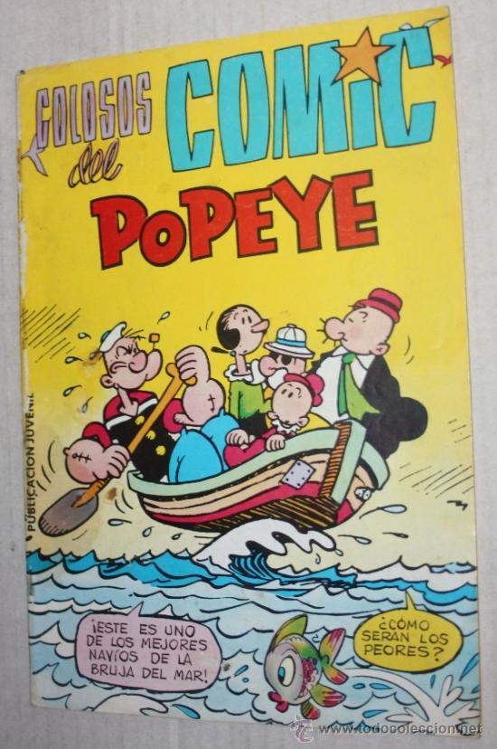 COLOSOS DEL COMIC: POPEYE Nº 30 (Tebeos y Comics - Valenciana - Colosos del Comic)