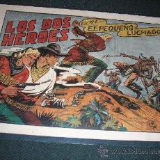 Tebeos: EL PEQUEÑO LUCHADOR Nº 37. LOS DOS HÉROES., ORIGINAL, GRANDES, IMPECABLE. Lote 35960465