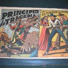 Tebeos: EL PEQUEÑO LUCHADOR Nº 38. PRINCIPIO DE TRAGEDIA, IMPECABLE. Lote 35960793