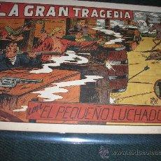 Tebeos: EL PEQUEÑO LUCHADOR Nº 40. LA GRAN TRAGEDIA.-IMPECABLE. Lote 36008209