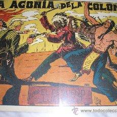 Tebeos: EL PEQUEÑO LUCHADOR Nº 41. LA AGONIA DE LA COLONIA. Lote 36008370