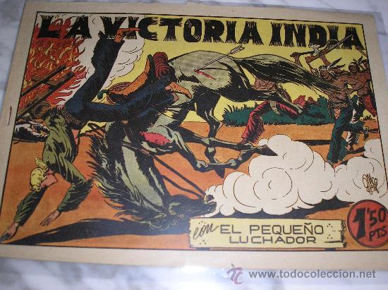 EL PEQUEÑO LUCHADOR Nº 42. LA VICTORIA INDIA (Tebeos y Comics - Valenciana - Pequeño Luchador)