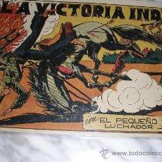 Tebeos: EL PEQUEÑO LUCHADOR Nº 42. LA VICTORIA INDIA. Lote 36008488