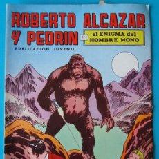 Tebeos: ROBERTO ALCAZAR Y PEDRIN, PUBLICACION JUVENIL, 2ª EPOCA NUMERO 19, EL ENIGMA DEL HOMBRE MONO. Lote 36029802