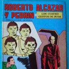 Tebeos: ROBERTO ALCAZAR Y PEDRIN, PUBLICACION JUVENIL, 2ª EPOCA NUMERO 22, LOS CUATRO GESTOS DE BUDA. Lote 36030101
