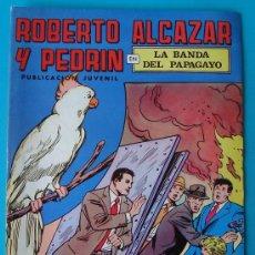 Tebeos: ROBERTO ALCAZAR Y PEDRIN, PUBLICACION JUVENIL, 2ª EPOCA NUMERO 28, LA BANDA DEL PAPAGAYO. Lote 36030322