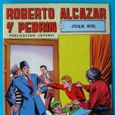 Tebeos: ROBERTO ALCAZAR Y PEDRIN, PUBLICACION JUVENIL, 2ª EPOCA NUMERO 33, JUAN SOL. Lote 36030615
