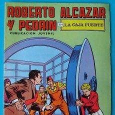 Tebeos: ROBERTO ALCAZAR Y PEDRIN, PUBLICACION JUVENIL, 2ª EPOCA NUMERO 34, LA CAJA FUERTE. Lote 36030666