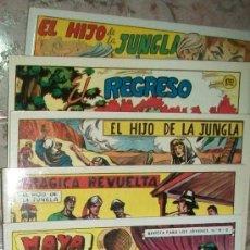 Tebeos: EL HIJO DE LA JUNGLA (11-TOMOS) (REEDICION). Lote 36099698