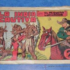 Tebeos: EL PEQUEÑO LUCHADOR CON LA INDIA CAUTIVA CAPITULO III, 23 VALENCIANA VER FOTOS. Lote 36153091