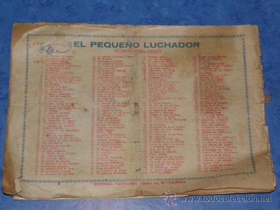 Tebeos: EL PEQUEÑO LUCHADOR CON LA INDIA CAUTIVA CAPITULO III, 23 VALENCIANA VER FOTOS - Foto 3 - 36153091