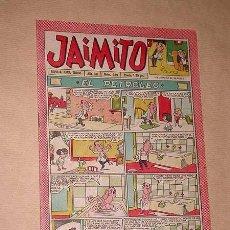 Tebeos: JAIMITO Nº 380. AÑO XII. REVISTA PARA TODOS. PALOP, KARPA, HENRY, NIN, SANCHIS. VALENCIANA 1957. ++. Lote 36343502