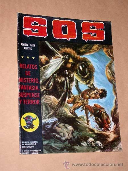 SOS Nº 23, SEGUNDA ÉPOCA. EDGAR, MORENO CASARES, EDUARDO VAÑO. VALENCIANA, 1981. +++ (Tebeos y Comics - Valenciana - S.O.S)