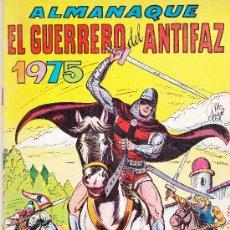 Tebeos: EL GUERRERO DEL ANTIFAZ, ALMANAQUE 1975. Lote 36139394