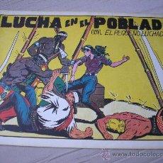 Tebeos: EL PEQUEÑO LUCHADOR Nº 22. LUCHA EN EL POBLADO, FACSIMIL. Lote 36206508