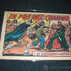 Tebeos: EL GUERRERO DEL ANTIFAZ 202. EN POS DEL TRAIDOR, ORIGINA, 1,25, SIN ABRIR. Lote 142927094