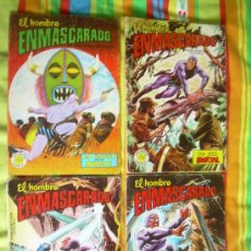 Tebeos: EL HOMBRE ENMASCARADO-LOTE DE 4 NUMEROS (15,43,49,52)-EDIT.VALENCIANA,COLECCION COLOSOS DEL COMIC . Lote 36342409
