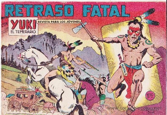 LOTE DE 9NºS DE YUKI EL TEMERARIO (Tebeos y Comics - Valenciana - Otros)