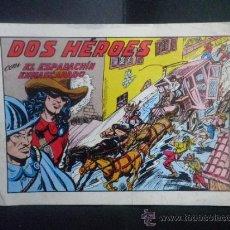 Tebeos: DOS HEROES CON EL ESPADACHIN ENMASCARADO - Nº 53. Lote 36489155