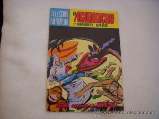 EL AGUILUCHO Nº 7, SELECCIÓN AVENTURERA, EDITORIAL VALENCIANA (Tebeos y Comics - Valenciana - Selección Aventurera)