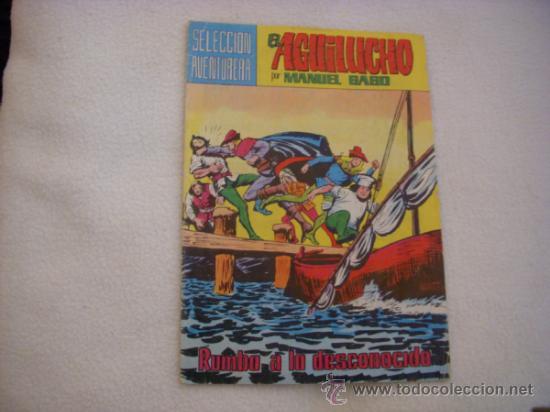 EL AGUILUCHO Nº 19, SELECCIÓN AVENTURERA, EDITORIAL VALENCIANA (Tebeos y Comics - Valenciana - Selección Aventurera)