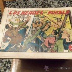 Tebeos: EL PEQUEÑO LUCHADOR 21 X 30 -Nº 184-ORIGINAL-. Lote 36676238