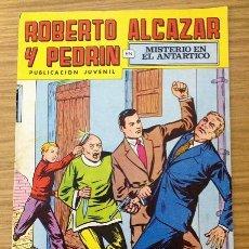 BDs: ROBERTO ALCAZAR Y PEDRIN 2ª ÉPOCA Nº 156 - MISTERIO EN EL ANTÁRTICO. Lote 189917887
