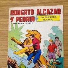 BDs: ROBERTO ALCAZAR Y PEDRIN 2ª ÉPOCA Nº 161 - LA PANTERA BLANCA. Lote 36735609