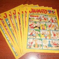 Tebeos: JAIMITO SUPER LOTE 9 NÚMEROS, DEL 738 AL 746 TODOS SEGUIDOS.. Lote 36777245