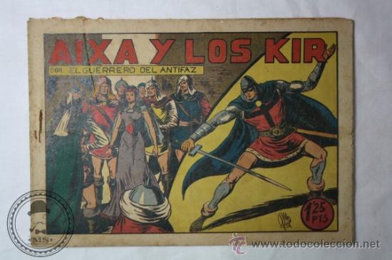 EL GUERRERO DEL ANTIFAZ NUMERO 88 - 1,25 PESETA - ORIGINAL DE ÉPOCA - AIXA Y LOS KIR (Tebeos y Comics - Valenciana - Guerrero del Antifaz)