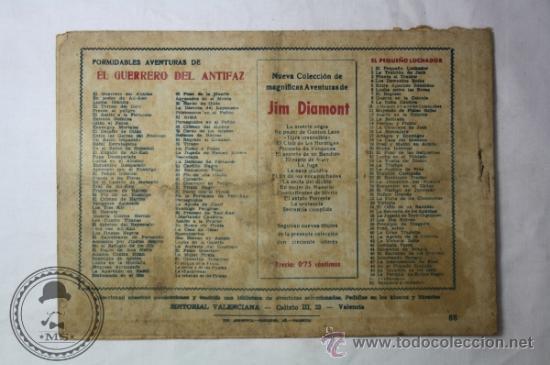 Tebeos: El Guerrero del Antifaz Numero 88 - 1,25 Peseta - Original de Época - Aixa y los Kir - Foto 2 - 36782219