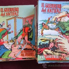 Tebeos: LOTE 80 CÓMICS DE EL GUERRERO DEL ANTIFAZ. EDITORIAL VALENCIANA. NUEVOS, SIN CIRCULAR. Lote 36828951