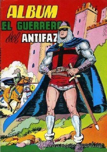 EL GUERRERO DEL ANTIFAZ ALBUM EDITORIAL VALENCIANA (Tebeos y Comics - Valenciana - Guerrero del Antifaz)