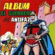Tebeos: EL GUERRERO DEL ANTIFAZ ALBUM EDITORIAL VALENCIANA. Lote 36868637