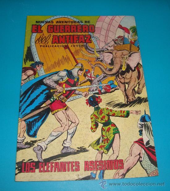 EL GUERRERO DEL ANTIFAZ Nº 97 AÑO 1980 EDITORA VALENCIANA SA (Tebeos y Comics - Valenciana - Guerrero del Antifaz)