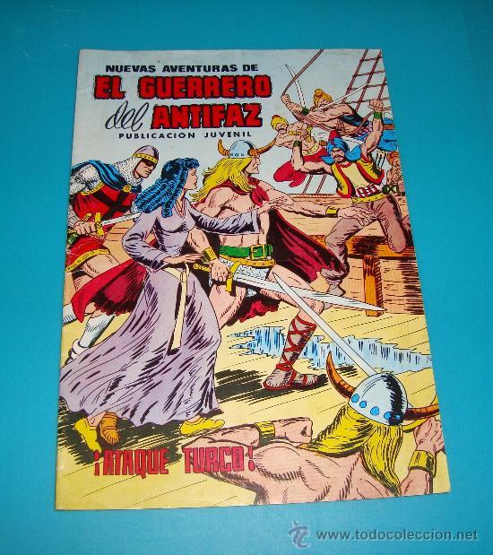 EL GUERRERO DEL ANTIFAZ Nº 103 AÑO 1980, EDITORA VALENCIANA S.A., EL ATAQUE TURCO (Tebeos y Comics - Valenciana - Guerrero del Antifaz)