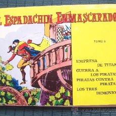 Tebeos: EL ESPADACHÍN ENMASCARADO. TOMO 6. VALENCIANA. 1981. Lote 37051579