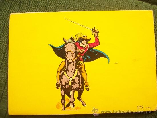 Tebeos: El espadachín enmascarado. tomo 6. Valenciana. 1981 - Foto 2 - 37051579