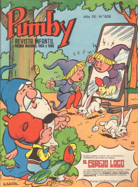 TEBEOS-COMICS GOYO - PUMBY - Nº 858 - VALENCIANA *AA99 (Tebeos y Comics - Valenciana - Pumby)