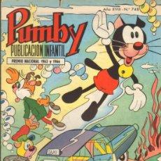 Tebeos: TEBEOS-COMICS GOYO - PUMBY - VALENCIANA 1955 - Nº 748 *CC99. Lote 37148662