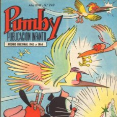 Tebeos: TEBEOS-COMICS GOYO - PUMBY - VALENCIANA 1955 - Nº 749 *BB99. Lote 37148663