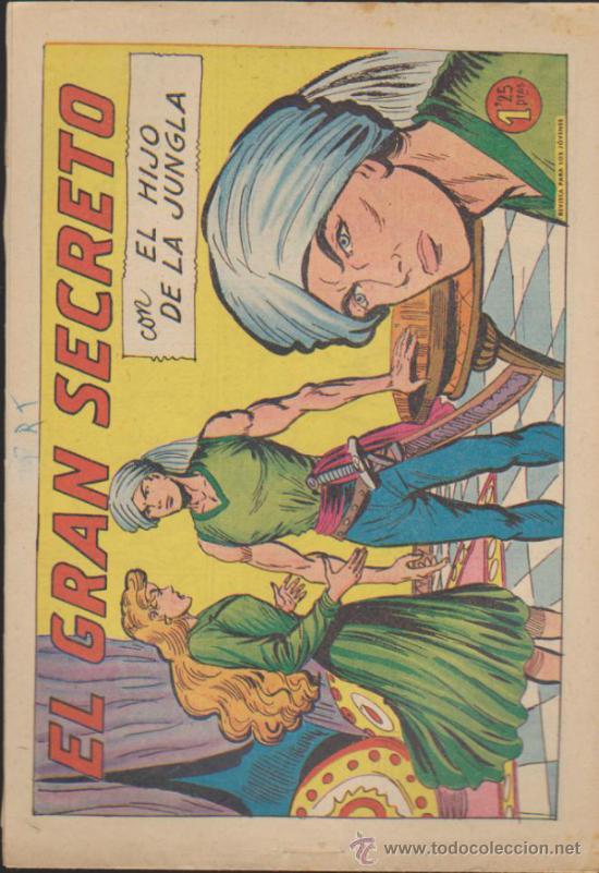 EL HIJO DE LA JUNGLA Nº 30. VALENCIANA 1956. (Tebeos y Comics - Valenciana - Hijo de la Jungla)