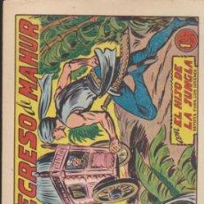 Tebeos: EL HIJO DE LA JUNGLA Nº 11. VALENCIANA 1956.. Lote 37269108