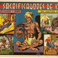 Tebeos: ROBERTO ALCAZAR Y PEDRIN - NÚM. 199 - (1.25 PTS.) - LOS SACRIFICADORES DE KALI . Lote 37489514