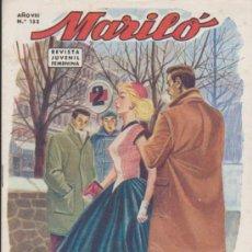 Tebeos: MARILÓ. LOTE DE 18 EJEMPLARES DEL 152 AL 170. VALENCIANA 1950. A FALTA DEL 162. Lote 37379552