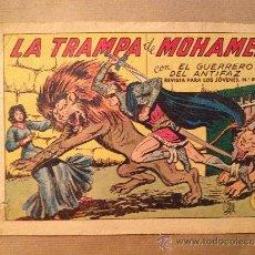 Tebeos: EL GUERRERO DEL ANTIFAZ - Nº 316 / LA TRAMPA DE MOHAMED / EDI. VALENCIANA. Lote 37381219