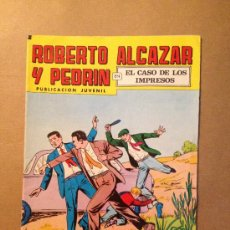 BDs: ROBERTO ALCAZAR Y PEDRIN - EPOCA 2º - Nº 197/ EDIVAL S. A. - 29-XII-1979. Lote 37381673